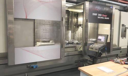 DECKEL-MAHO DMF 360 LINEAR  ISO50